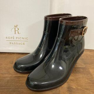Rope' Picnic - ロペピクニック 長靴 レインブーツ L ブラック