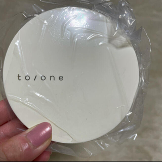 Cosme Kitchen - to/one トーン ライティングミラー ニットポーチ セット