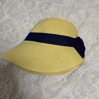 シマムラ(しまむら)のしまむら 畳めるUV麦わら帽子 サイズ調節可能 (麦わら帽子/ストローハット)
