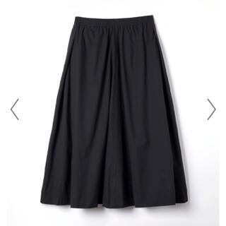 マザー(mother)のFORME mother 東原亜希さん フレアスカート ブラック 0(ロングスカート)