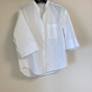 GU - GUジーユー レディース ワイドスリーブシャツ(5分袖)Mサイズ