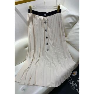 シャネル(CHANEL)のCHANEL  プリーツスカート  (ひざ丈スカート)