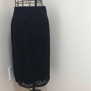 ナラカミーチェ(NARACAMICIE)のナラカミーチェ レースのタイトスカート(ひざ丈スカート)