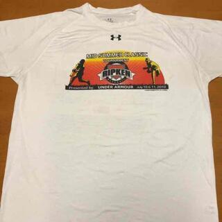 UNDER ARMOUR - アンダーアーマー Tシャツ ビッグプリント ビッグシルエット XL