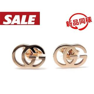 グッチ(Gucci)のグッチ ピアス ■ K18 PG ピンクゴールド ランニングG(ピアス)