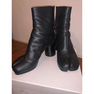 マルタンマルジェラ(Maison Martin Margiela)のMaison Margiela マルジェラ 足袋ブーツ 黒 25-25.5cm(ブーツ)