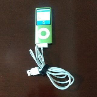 iPod - ipod nano 4GB グリーン 充電器あり