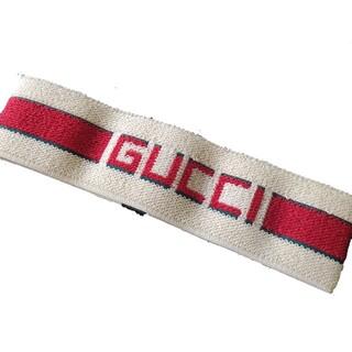 Gucci - gucci ヘアバンド ストライプ