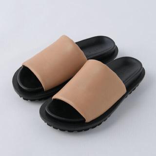 エンフォルド(ENFOLD)のお値下げ 21SS Enfold Sandals ベージュ 36(サンダル)