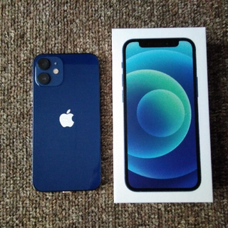 Apple - Apple iPhone12 mini 128GB ブルー simフリー