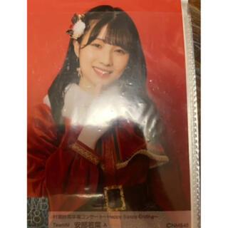 エヌエムビーフォーティーエイト(NMB48)のNMB48  村瀬紗英卒業コンサート 生写真 安部若菜 A(アイドルグッズ)