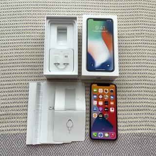 Apple - ♦︎美品♦︎iPhone X Silver 256 GB docomo(送料込)