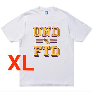 アンディフィーテッド(UNDEFEATED)の【新品未使用】UNDEFEATED レイカーズ tee XLサイズ White(Tシャツ/カットソー(半袖/袖なし))