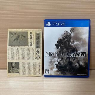 プレイステーション4(PlayStation4)のNieR:Automata(ニーア オートマタ) PS4(家庭用ゲームソフト)