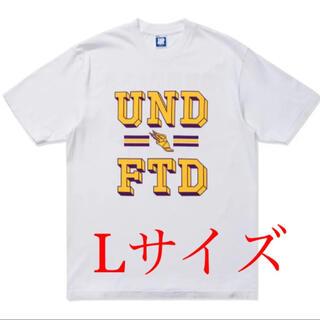 アンディフィーテッド(UNDEFEATED)の【新品未使用】UNDEFEATED レイカーズ tee Lサイズ 白 White(Tシャツ/カットソー(半袖/袖なし))