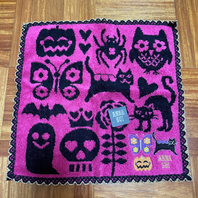 ANNA SUI(アナスイ)のANNA SUI タオルハンカチ レディースのファッション小物(ハンカチ)の商品写真