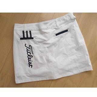 タイトリスト(Titleist)の【悠様専用】ミニスカート Mサイズ  白 ホワイト 夏 サマー ゴルフ(ウエア)