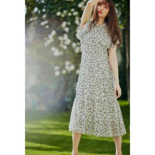 snidel - herlipto Muguet-printed Romantic Dress