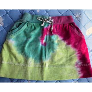 チチカカ(titicaca)のキッズ チチカカ タイダイ柄 スカート 110センチ(スカート)