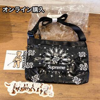 シュプリーム(Supreme)の新品オンライン購入 Supreme bandana ショルダー バッグ(ショルダーバッグ)