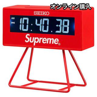 シュプリーム(Supreme)のオンライン購入 Supreme/Seiko Marathon Clock(置時計)