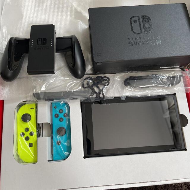Nintendo Switch(ニンテンドースイッチ)のNintendoSwitchニンテンドースイッチ エンタメ/ホビーのゲームソフト/ゲーム機本体(家庭用ゲーム機本体)の商品写真