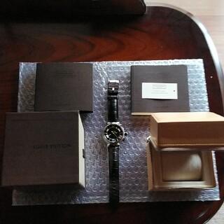 ルイヴィトン(LOUIS VUITTON)のLOUIS VUITTON ルイ・ヴィトン タンブール 腕時計(腕時計)
