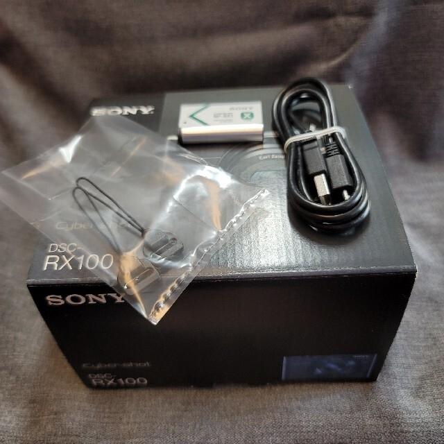 値下げ【中古】SONY RX100 (DSC-RX100) スマホ/家電/カメラのカメラ(コンパクトデジタルカメラ)の商品写真