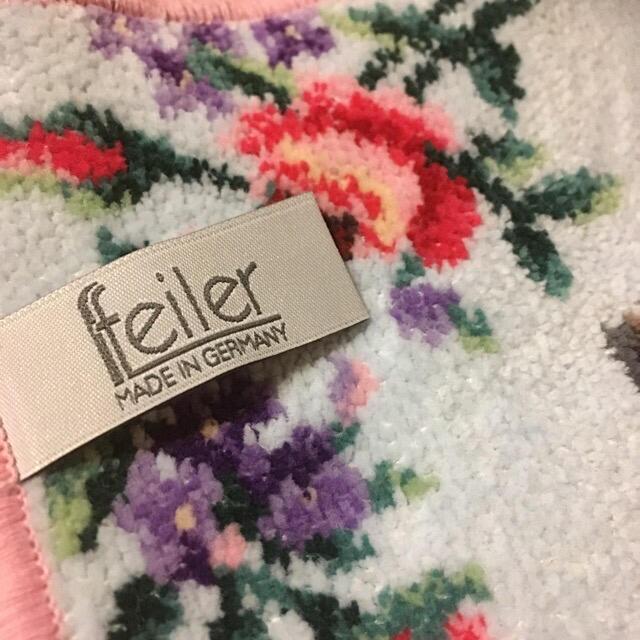 FEILER(フェイラー)のフェイラー  FEILER タオルハンカチ  薔薇 オーストリア ウィーン限定 レディースのファッション小物(ハンカチ)の商品写真