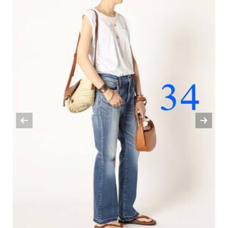 DEUXIEME CLASSE - 【SURT/サート】 FLARE HEM デニム サイズ34  新品