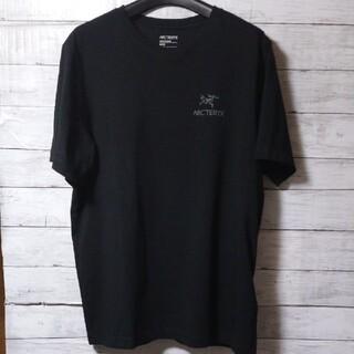 ARC'TERYX - [新品]ARC'TERYX メンズ ロゴ Tシャツ ブラック