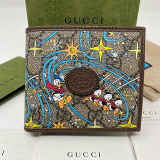 Gucci - GUCCI グッチ 二つ折り財布 ドナルド Disney 財布 コラボ