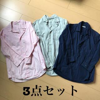 ジーユー(GU)のGU メンズ シャツ セット(シャツ)