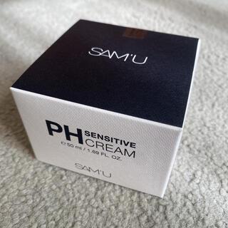 チャアンドパク(CNP)のサミュ SAM'U PHセンシティブクリーム(フェイスクリーム)
