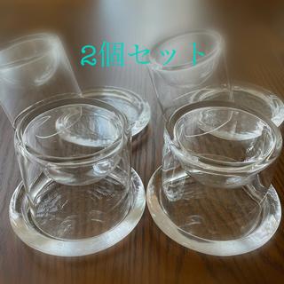 スガハラ(Sghr)のスガハラ 3D立体皿・受け皿 Sサイズ 4個セット(食器)