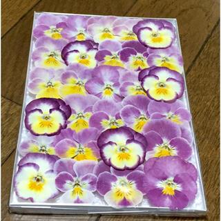 A③ 銀の紫陽花が作った可愛いピンクビオラのドライフラワー(ドライフラワー)