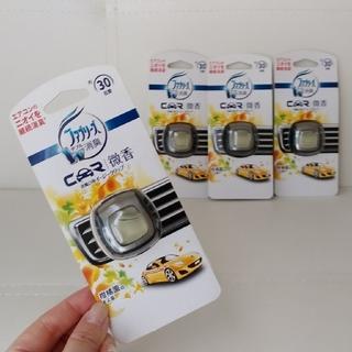 P&G - 【新品・未開封】ファブリーズ ダブル消臭 CAR 4個
