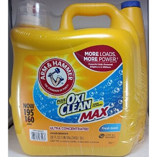 コストコ(コストコ)のプラス オキシクリーン マックス 7.39L 液体洗剤(洗剤/柔軟剤)