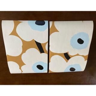 マリメッコ(marimekko)のマリメッコウニッコ壁紙カット済 約幅22.5cm×33cm×2枚セット(その他)