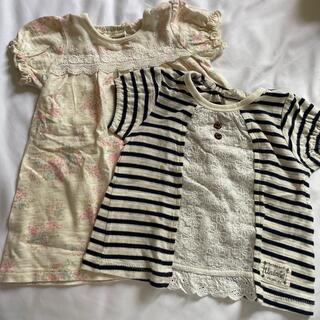 Tシャツ、ワンピース 90センチ (ワンピース)