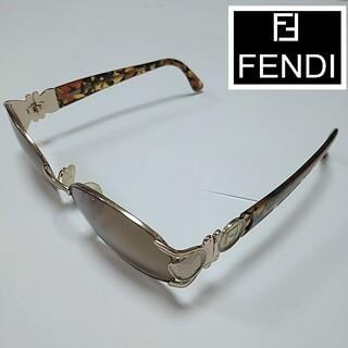 FENDI - フェンディ FENDI サングラス メガネ 度なし イタリア製 箱付け
