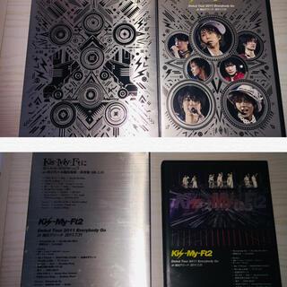 キスマイフットツー(Kis-My-Ft2)の  Debut Tour 2011  &  キスマイにあえるで、2点(ミュージック)