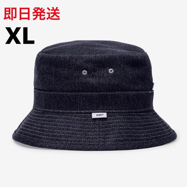 W)taps(ダブルタップス)のXLサイズ BUCKET 01 / HAT / COTTON. DENIM メンズの帽子(ハット)の商品写真