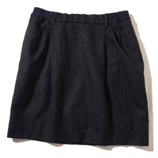 プラージュ(Plage)のプラージュ ピンストライプ スカート(ひざ丈スカート)