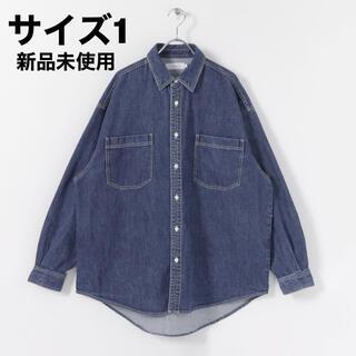 ワンエルディーケーセレクト(1LDK SELECT)の【1】Graphpaper Denim Regular CollarShirt(シャツ)