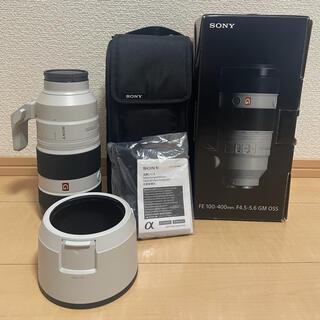 SONY - FE 100-400 gm  oss F4.5-5.6 SONY eマウント