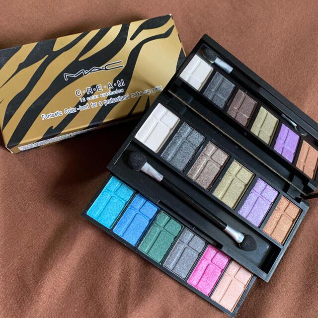 MAC(マック)のマック MAC ✤アイシャドウ12色✤ コスメ/美容のベースメイク/化粧品(アイシャドウ)の商品写真