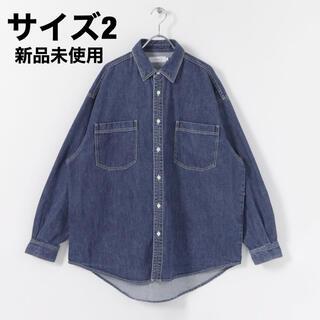 ワンエルディーケーセレクト(1LDK SELECT)の【2】Graphpaper Denim Regular CollarShirt(シャツ)