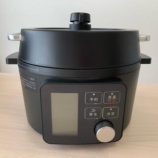 アイリスオーヤマ - アイリスオーヤマ 電気圧力鍋 2.2L ブラック