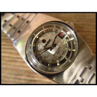 ラドー(RADO)のRADO ラドー CAPEHORN 250 シルバー文字盤 アンティーク 自動巻(腕時計(アナログ))